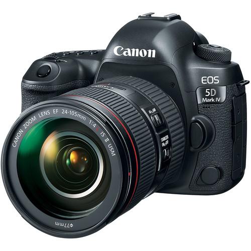 دوربین عکاسی کانن Canon EOS 5D Mark IV همراه لنز کانن EF 24-105mm