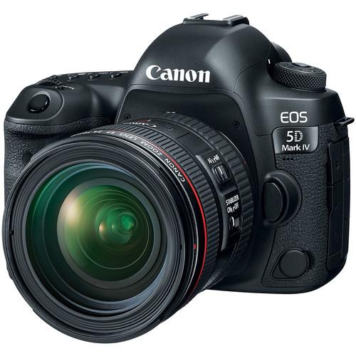 دوربین عکاسی کانن Canon EOS 5D Mark IV همراه لنز کانن EF 24-70mm