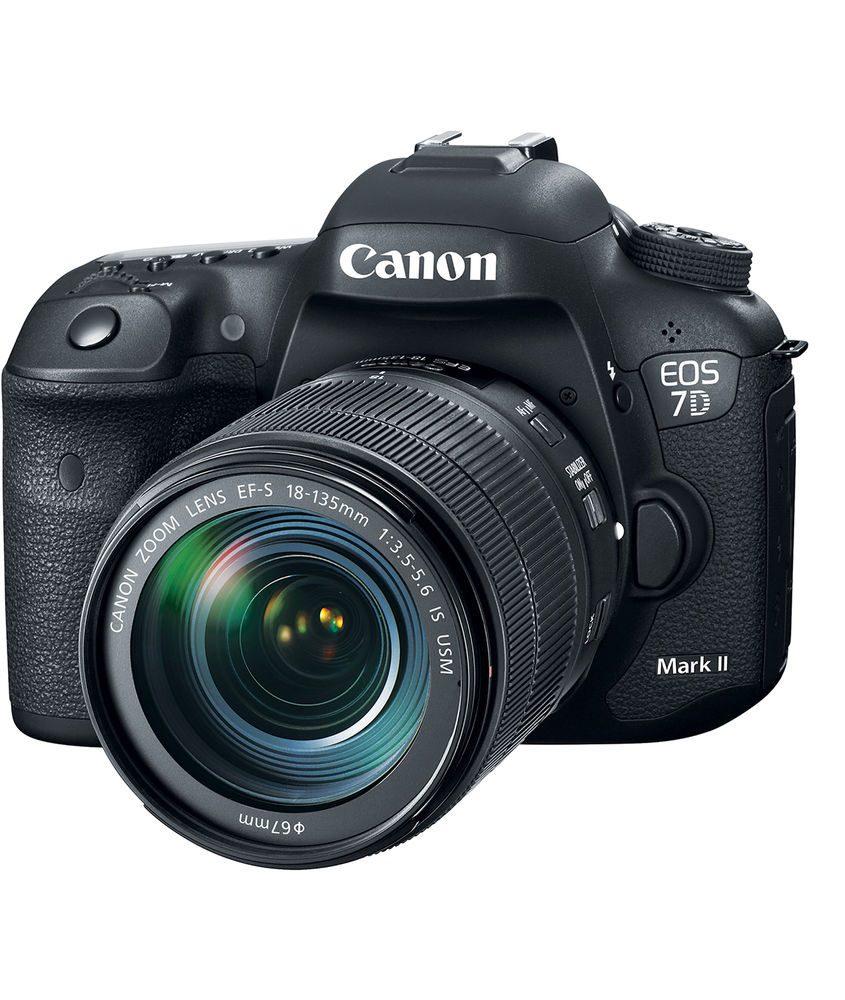 دوربین عکاسی کانن Canon EOS 7D Mark II همراه لنز کانن EF-S 18-135mm