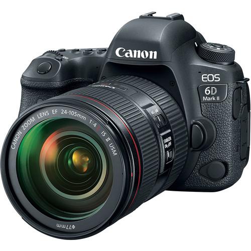 دوربین عکاسی کانن Canon EOS 6D Mark II همراه لنز کانن EF 24-105mm f/4L II