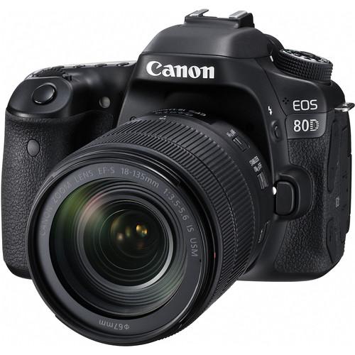 دوربین عکاسی Canon EOS 80D DSLR