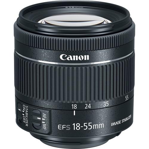 لنز کانن Canon EF-S 18-55mm f/4-5.6 IS STM