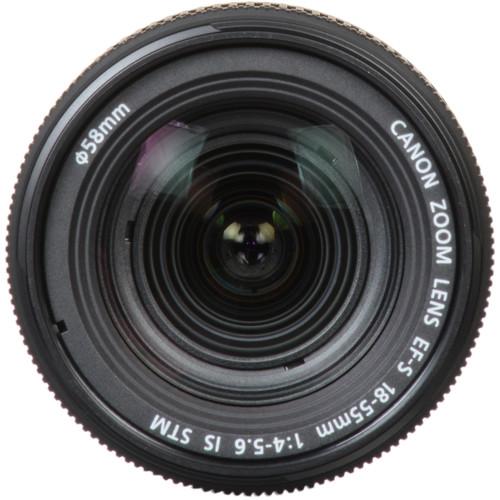 لنز کاننCanon EF-S 18-55mm f/4-5.6 IS STM