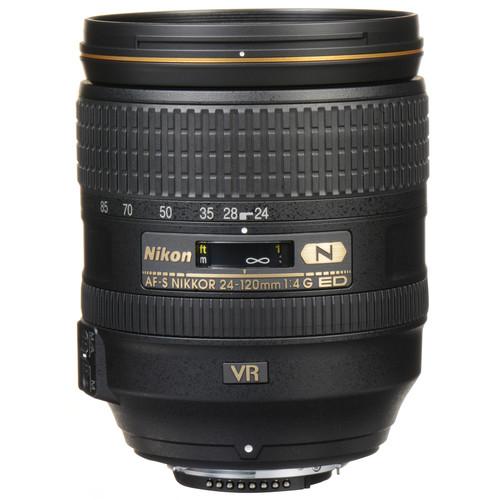 لنز نیکون Nikon AF-S NIKKOR 24-120mm f/4G ED VR Lens