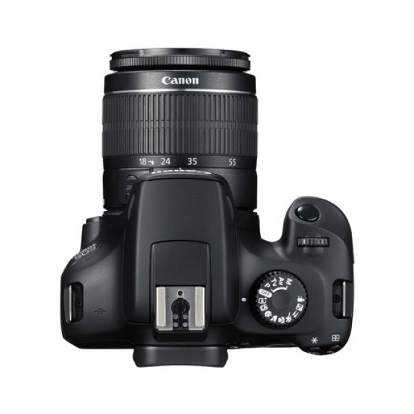 دوربین عکاسی کانن Canon EOS 4000D همراه لنز کانن EF-S 18-55mm III