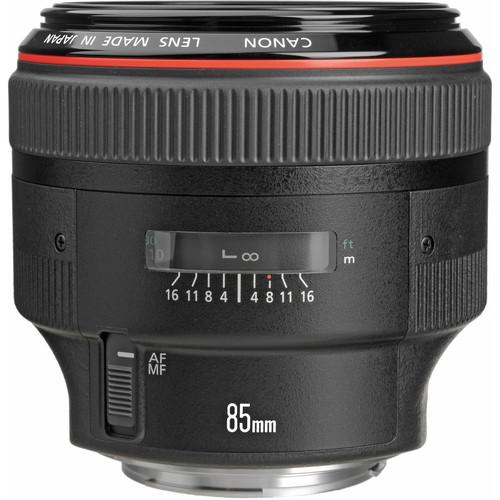 عکس لنز کانن Canon EF 85mm f/1.2L II USM