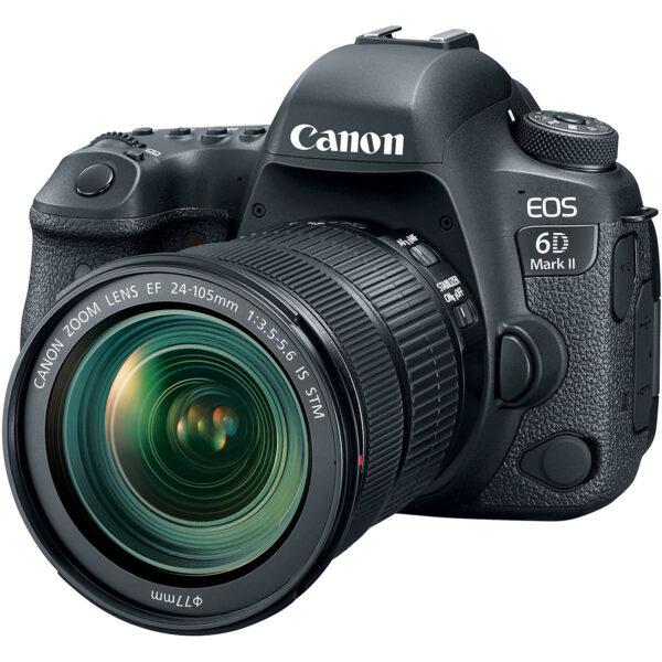 دوربین عکاسی کانن Canon EOS 6D Mark II همراه لنز کانن EF 24-105mm STM