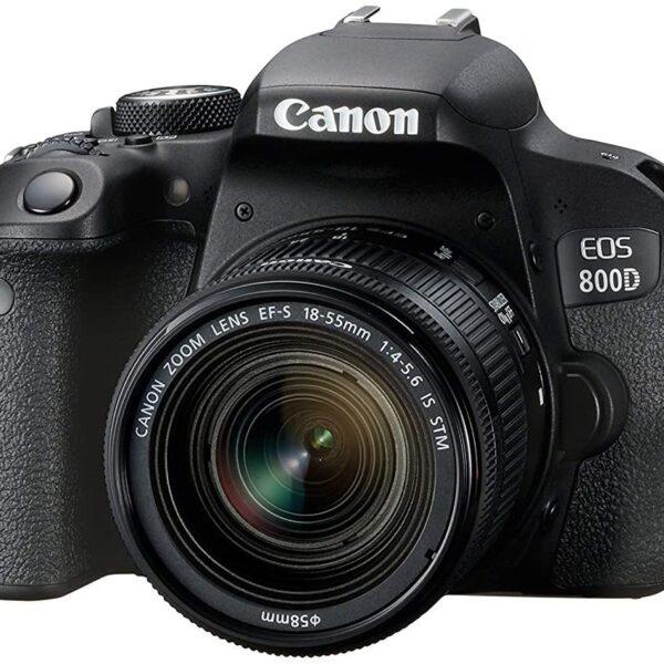 دوربین عکاسی کانن Canon EOS 800D همراه لنز کانن EF-S 18-55mm