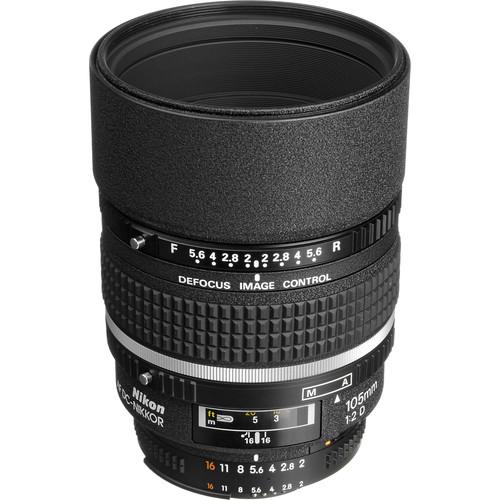 لنز نیکون Nikon AF DC-NIKKOR 105mm f/2D