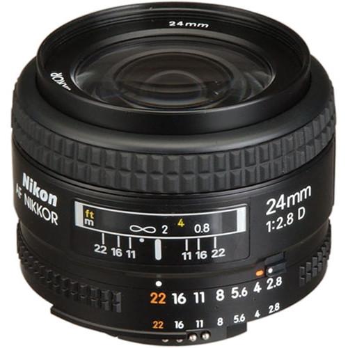لنز نیکون Nikon AF NIKKOR 24mm f/2.8D