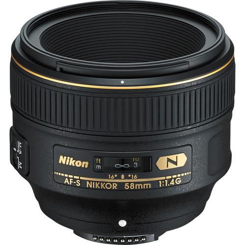لنز نیکون Nikon AF-S NIKKOR 58mm f/1.4G