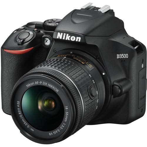 دوربین عکاسی نیکون Nikon D3500 همراه لنز نیکون AF-P 18-55mm