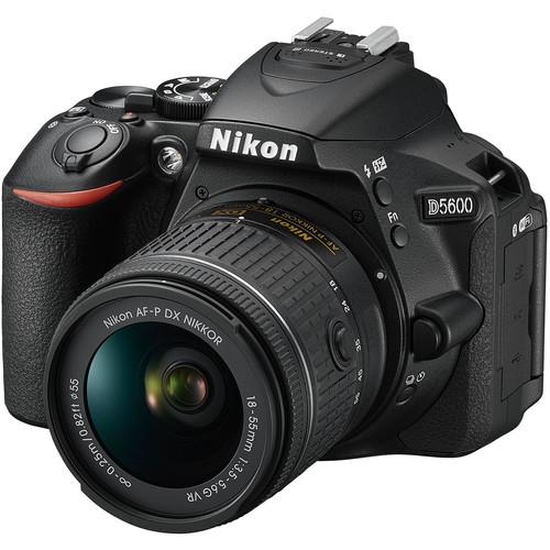 دوربین عکاسی نیکون Nikon D5600 همراه لنز نیکون AF-P 18-55mm