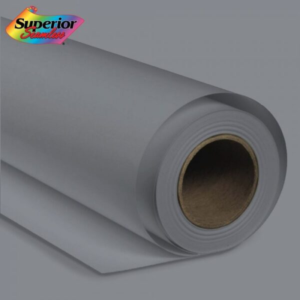 Superior Seamless 21 Pursuit Grey Background Paper Roll