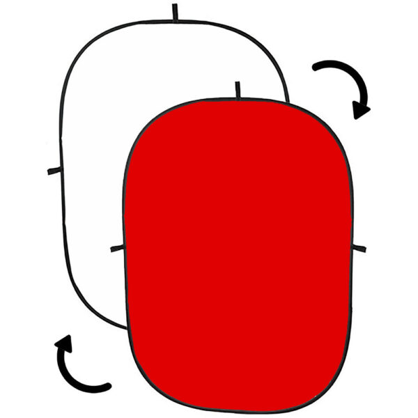 فون عکاسی پرتابل سفید قرمز