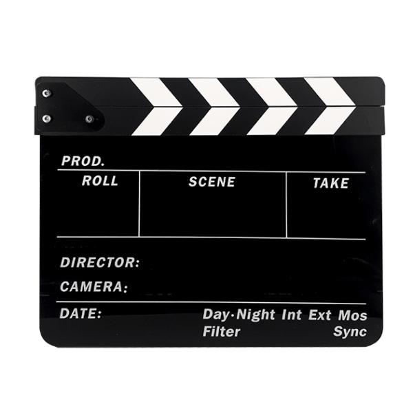 کلاکت فیلمبرداری مشکی
