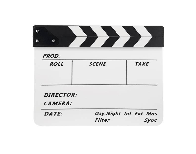 کلاکت فیلمبرداری سفید