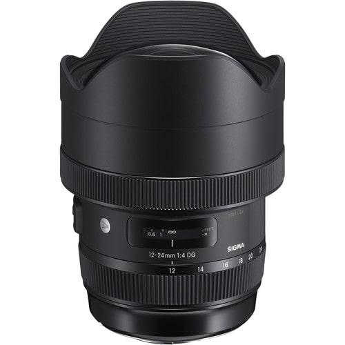 لنز سیگما Sigma 12-24mm f/4 DG HSM Art برای نیکون
