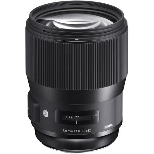 لنز سیگما Sigma 135mm f/1.8 DG HSM Art برای نیکون