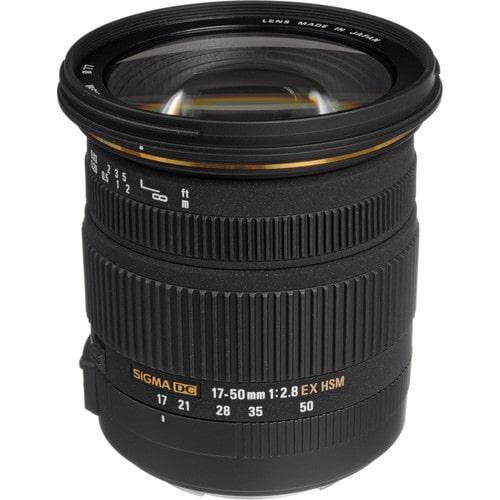 لنز سیگما Sigma 17-50mm f/2.8 EX DC OS HSM برای کانن