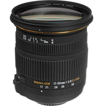 لنز سیگما Sigma 17-50mm f/2.8 EX DC OS HSM برای نیکون