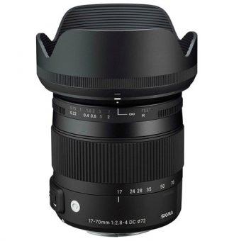 لنز سیگما Sigma 17-70mm f/2.8-4 DC Macro OS HSM C برای کانن