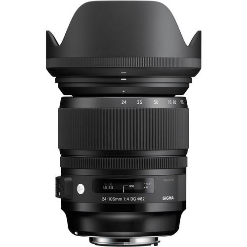 لنز سیگما Sigma 24-105mm f/4 DG OS HSM Art برای نیکون