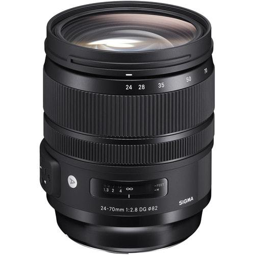 لنز سیگما Sigma 24-70mm f/2.8 DG OS HSM Art برای کانن