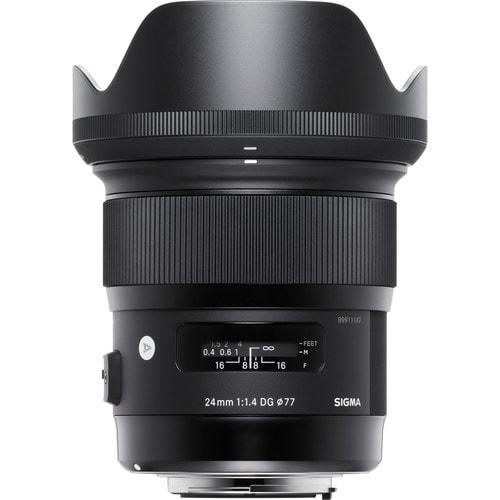 لنز سیگما Sigma 24mm f/1.4 DG HSM Art برای کانن