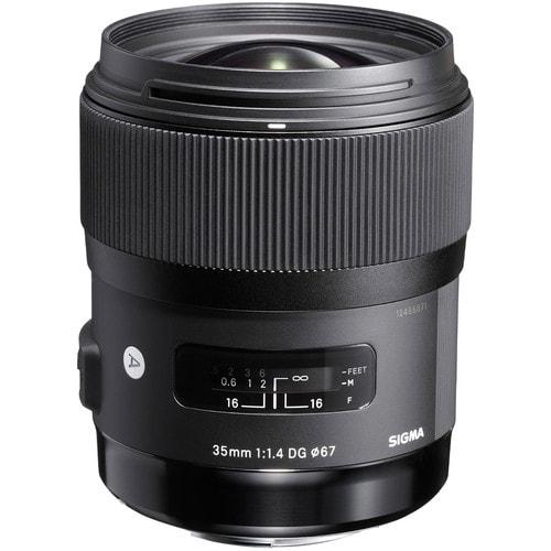 لنز سیگما Sigma 35mm f/1.4 DG HSM Art برای نیکون