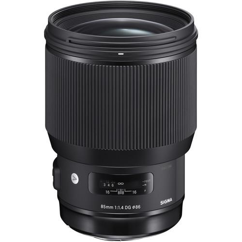لنز سیگما Sigma 85mm f/1.4 DG HSM Art برای نیکون
