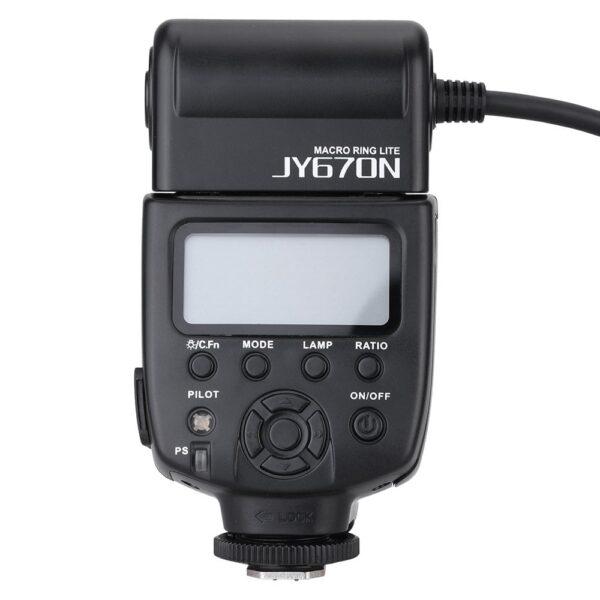 رینگ فلاش ویلتروکس Viltrox JY-670n Macro Flash برای نیکون