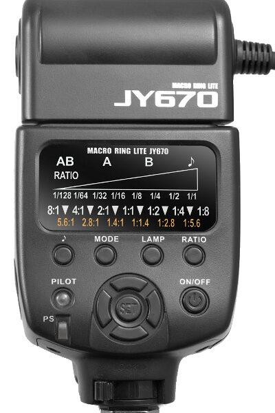 رینگ فلاش ویلتروکس Viltrox JY-670 Macro Flash برای کانن
