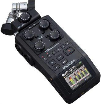 رکوردر صدا زوم ZOOM H6 Handy Recorder