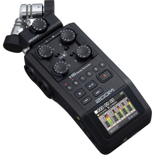 رکوردر صدا زوم ZOOM H6 Handy Recorder