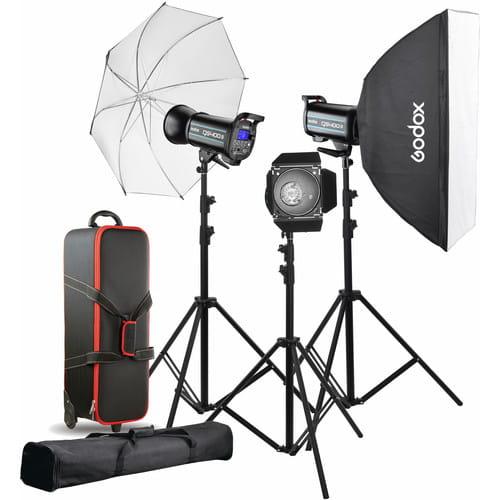 کیت فلاش گودکس Godox QS400II 3-Light Studio