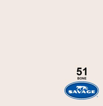 فون کاغذی سوج عاجی Savage Widetone Seamless #51 Bone