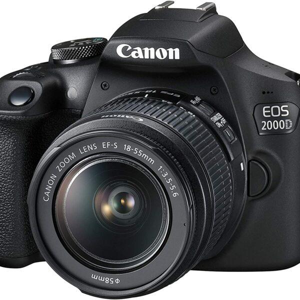 دوربین عکاسی کانن Canon EOS 2000D همراه لنز کانن EF-S 18-55mm III