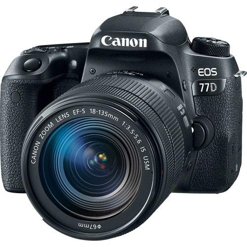 دوربین عکاسی کانن Canon EOS 77D همراه لنز کانن EF-S 18-55mm