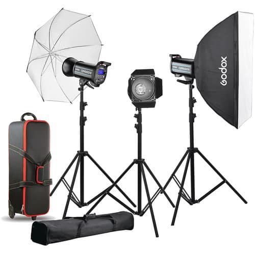 کیت فلاش گودکس Godox QS600II 3-Light Studio