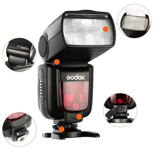 فلاش اکسترنال گودوکس Godox TT685C TTL برای کانن