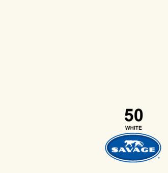فون کاغذی سوج سفید Savage Widetone Seamless #50 White