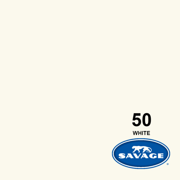 فون کاغذی سوج سفید Savage Widetone Seamless #50 White