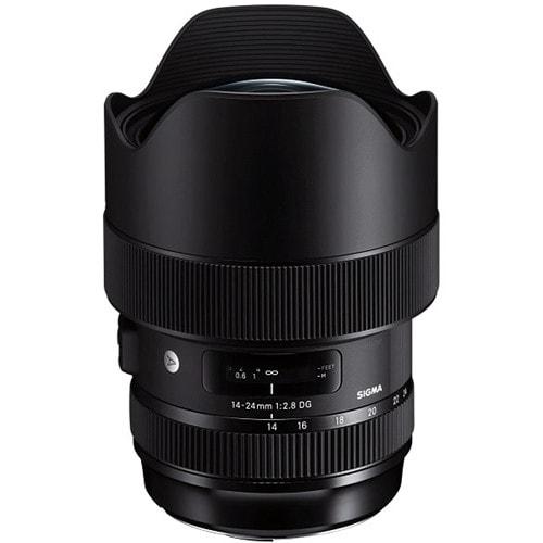لنز سیگما Sigma 14-24mm f/2.8 DG HSM Art برای کانن