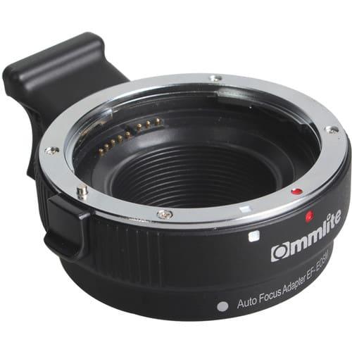 تبدیل لنز کانن مانت EF/EF-s به کانن EF-M مانت Commlite Comix