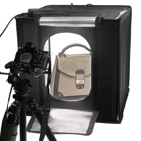 خیمه عکاسی 50 سانتی متر با نور داخلی لایف LIFe LED 550