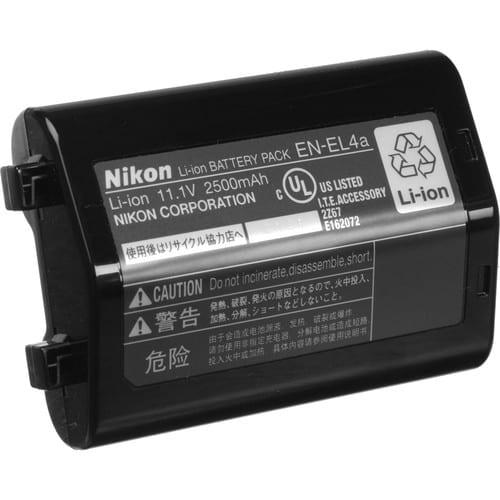 باتری دوربین نیکون Nikon EN-EL4a مشابه اصل