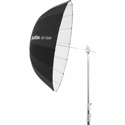 چتر عکاسی داخل سفید بیرون مشکی عمیق گودکس Godox UB-105W Parabolic