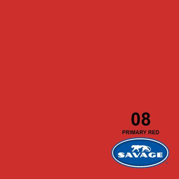 فون کاغذی سوج قرمز Savage Widetone Seamless #08 Primary Red