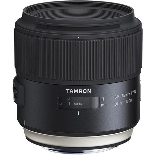 لنز تامرون Tamron SP 35mm f/1.8 Di VC USD برای کانن